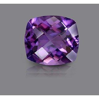 CEYLONMINE 7.25 ratti Purple Amethyst stone original & semi-precious stone jamuniya  for astrological purpose