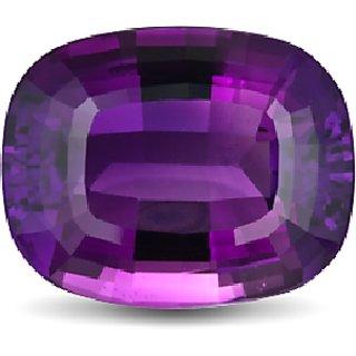 CEYLONMINE 7.25 ratti Purple Amethyst stone original & semi-precious stone Purple jamunia  for astrological purpose