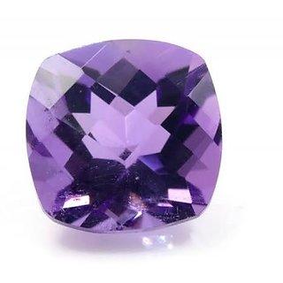 CEYLONMINE 8.25 ratti jamuniya gemstone natural & lab certified Amethyst stone for astrological purpose