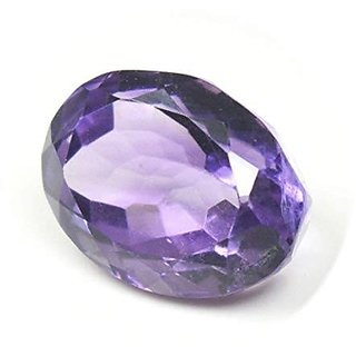 CEYLONMINE semi-precious gemstone jamuniya Amethyst natural & certified 10.00 ratti for women & men