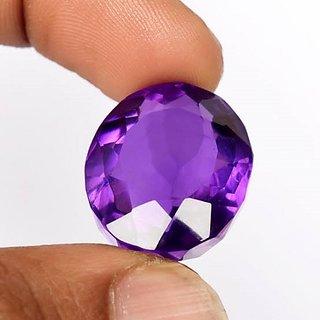CEYLONMINE  Jamuniya Amethyst stone unheated & untreated Amethyst gemstone 10.00 ratti for unisex