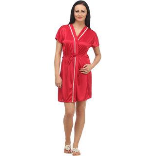 Nitein Lycra Robes - Red