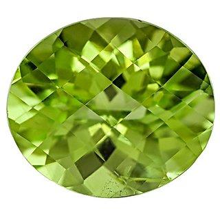 9.00 ratti Peridot gemstone natural & lab certified green peridot stone for astrological purpose