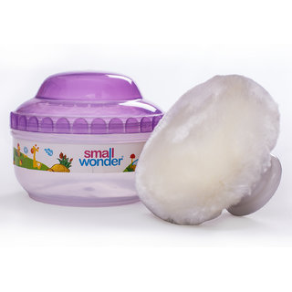 Small Wonder Baby Powder Case With Puff
