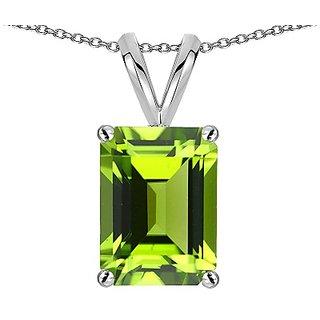 Ceylonmine 6.00  ratti Peridot locket original & semi precious locket green green peridot for astrological purpose