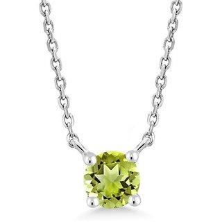 Green peridot locket 100% original & unheated pendant Peridot locket semi precious locket 6.00  ratti by Ceylonmine