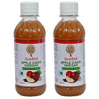 NatuRich Apple Cider Vinegar with Mother (Pack of 2)