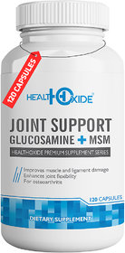 HealthOxide Joint Support  Support Joint Pain Relief, Strength  Flexibility for Men  Women  (120 No)
