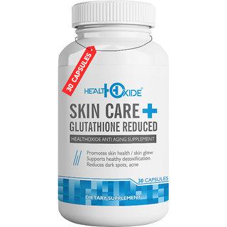 HealthOxideSkincare-Skin Whitening Pills Advanced Formula for Fair and Beautiful Skin. - 30 Capsules.