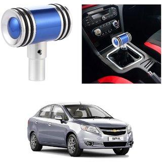 AutoRight Hammer Type Aluminum Handle Gear Shift Knob Blue For Chevrolet Sail