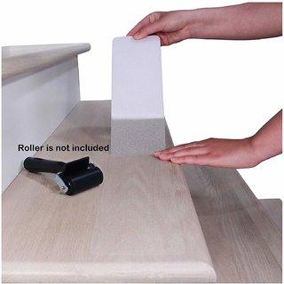Online Mantra Non-Slip Stair Treads Tape Clear Anti-Slip Indoor Anti Skid Anti Slip Tape Adhesive (10cm x 80cm)