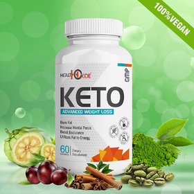 HealthOxide Fat Burner Weight loss supplements with all natural ingredients - 60 Capsules.