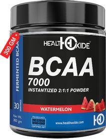 HealthOxide BCAA 7000 Amino Acid INSTANTIZED 211 POWDER - 300 gm