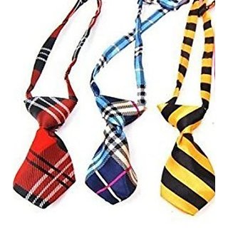 Hsj Dog  Cat Collar Grooming Bow Tie Necktie Clothes- 1 Piece Color May Vary