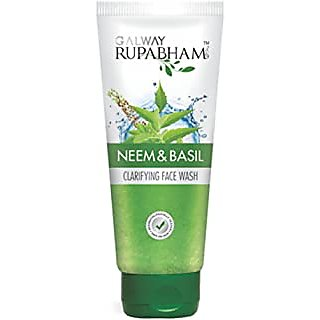 Galway Rupabham Neem  Basil Face Wash, 100ml
