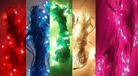 ASU Plastic Rice Lights Serial Bulbs Ladi Decoration Lighting for Diwali Christmas