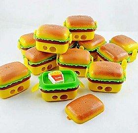 ASU Burger Style Sharpener and Eraser Goody Bag Fillers - Set of 12