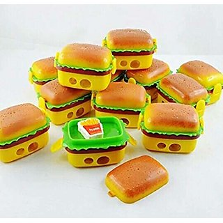 ASU Burger Style Sharpener and Eraser Goody Bag Fillers - Set of 12