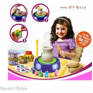 ASU Battery Operated Imaginative Arts Pottery Wheel Game for Kids
