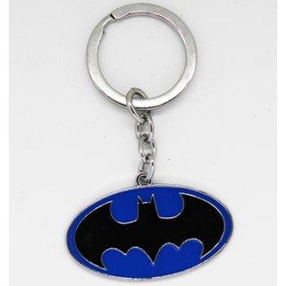 Passion Bazaar Blue Color Cartoon Character Batman Keychain For Car, Bike, Office, House Locker Keys to Gift Your Kids,Friends