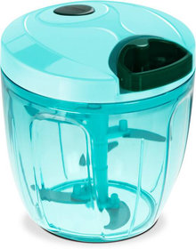 Ac Smart Handy Chopper Vegetable Cutter And Food Processor For Home/Kitchen Blue Vegetable Chopper (1 Piece Of Chopper