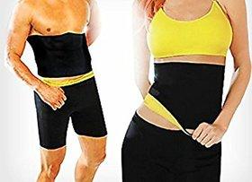 Lower Body Shaper Slim Unisex Sweat Belt - Medium Size