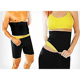 Lower Body Shaper Slim Unisex Sweat Belt - Medium Size