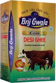 1 Ltr Brij Gwala Pure Cow Desi Ghee Tetra Pack