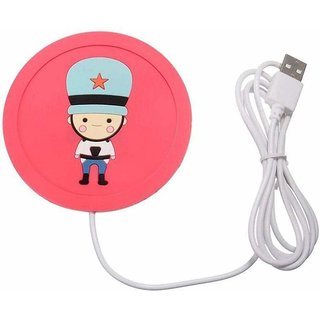 Jonprix Usb Warmer Gadget Cartoon Silicone Thin Cup-Pad Coffee Tea Drink Usb Heater Tray Mug Pad