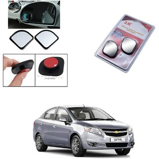 Autoright 3R Blind Spot Mirror, Shape Semi Round, Suitable Rear View Mirrors And Side Mirrors For Chevrolet Sail