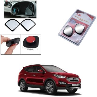 Autoright 3R Blind Spot Mirror, Shape Semi Round, Suitable Rear View Mirrors And Side Mirrors For Hyundai Santafe