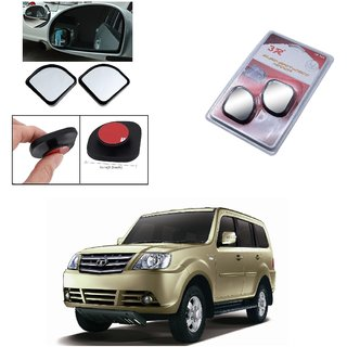Autoright 3R Blind Spot Mirror, Shape Semi Round, Suitable Rear View Mirrors And Side Mirrors For Tata Sumo Grand