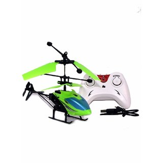 Shribossji Type 2-In-1 Exceed Flying Indoor Helicopter With Remote