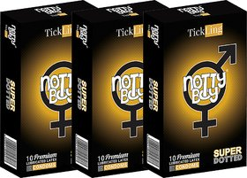 Nottyboy Combo Pack - 30 Count, Extra Dots