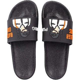 Clymb Pubg Black Flip Flops For Mens