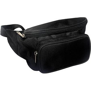 Waist Pack Travel Handy Hiking Zip Pouch Document Money Phone Belt Sport Bag Bum Bag For Men And Women Polyester With Sytlish Design