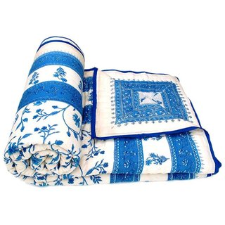 Jaipuri Razai Double Bed Cotton Jaipuri Razai Light Weight With Cotton Filling Traditional Jaipuri Razai/Comforter/Quilt /Jaipuri Rajai/Blanket/Ac Blanket