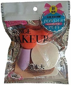 Gulzar 6 Pc Make Up Cosmetic Foundation Sponge Powder Facial Puff Different Shapes
