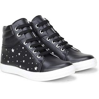 Clymb 7607 Black Casual Sneakers For Women's