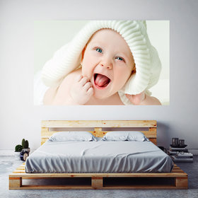 Cute Baby Boy Green Eyes Wallpaper Poster Frameless Painting On Canvas Wall Art Picture For Home Decoration