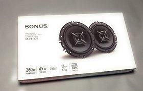 Sonus Xs-Fb162E - 6.5Inch 2 Way- 260Watt Car Door Speakers