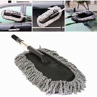 Eastern Club Microfiber Flexible Car Cleaning Duster Car Wash Dust Wax Mop Car Washing Brush