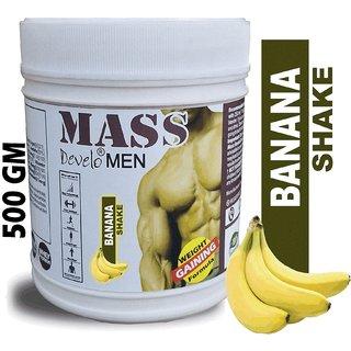Weight/Mass Gainer Supplement For Men's/Boys' 500G Banana Shake