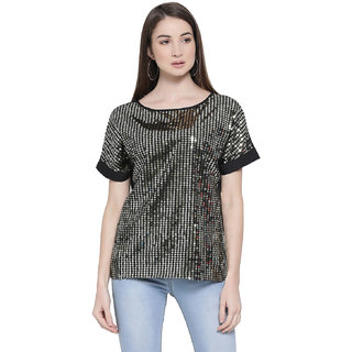 Oxolloxo Women's Top (Black_Small)
