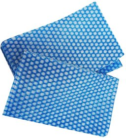Aggarwal  Co. Non-Woven Kitchen Towel (Pack Of 25)(Blue)