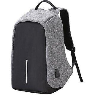 Proera Grey Anti Theft College Bags Backpacks Laptop Bags 14.6 Inch Shoulder Bag Side Bag For Men Women
