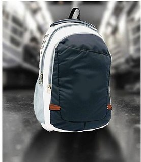 Proera Blue & White Multipurpose 14.6 Inch Unisex Bag