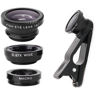Mobile Clip Lens Smart Phones Compatiable Lens3 In 1 Lens Fish Eye Lens Macro Lens Wide Angle Lens Mobile Lensuniversal Mobile Lens Telescope Lenszoom