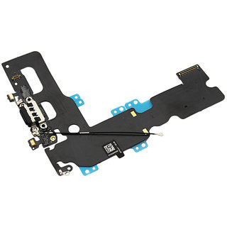 Anonbasics Charging Board/ Charging Flex Compatible For Iphone 7 Black