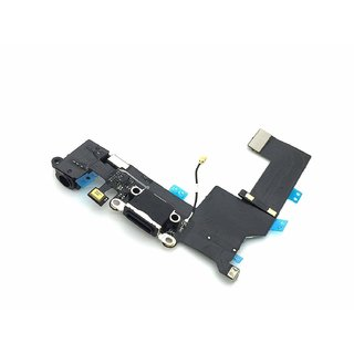 Anonbasics Charging Board/ Charging Flex Compatible For Iphone 5S Black